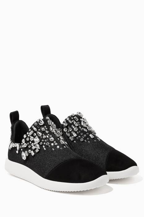 Black Gemma Sneakers