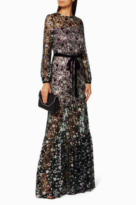 Holly Sequin Gown