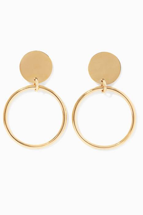 Gold Harley Earrings