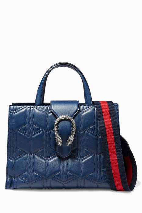 Dark-Blue Borsa Dionysus Top Handle Bag