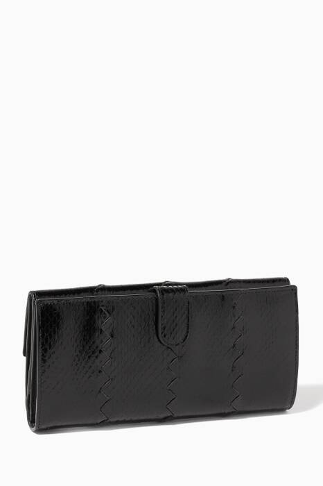 Intrecciato Nappa Leather Double Wallet