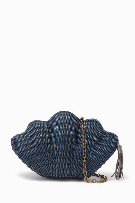 Navy Jane Clutch