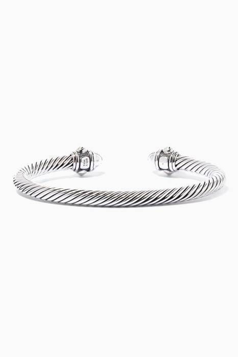 Sterling Silver Classic Cable Bracelet
