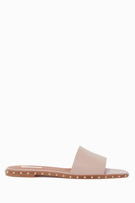 Light-Pink Soul Rockstud Slides