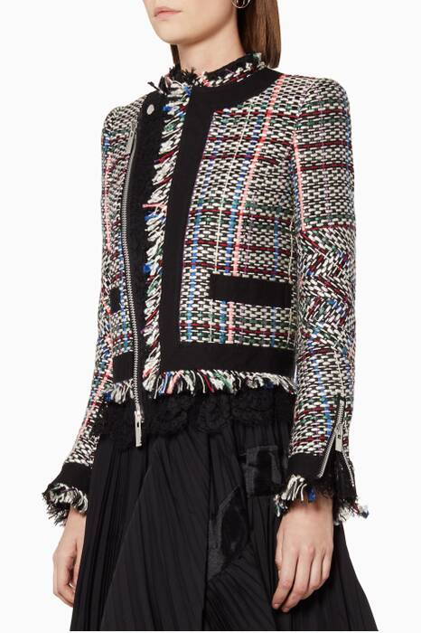 Multi-colour Summer Tweed Jacket