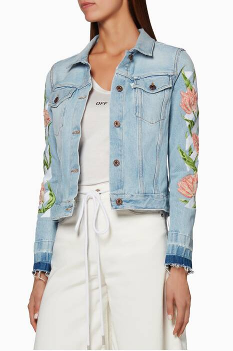 Roses Denim Jacket