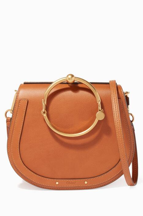 Caramel Nile Medium Bracelet Bag