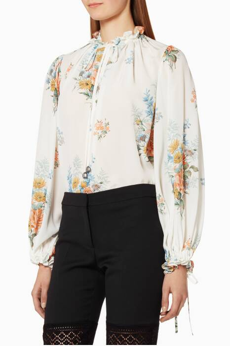 Off-white Island Bouquet Top