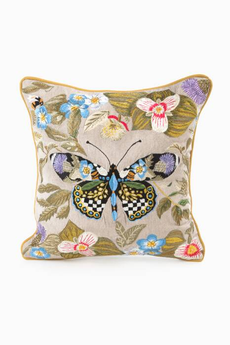 Thistle & Bee Pillow