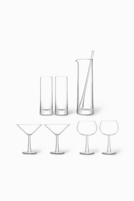 Clear Gin Cocktail Set