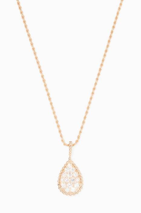 Rose-Gold & Diamond Serpent Bohème Necklace