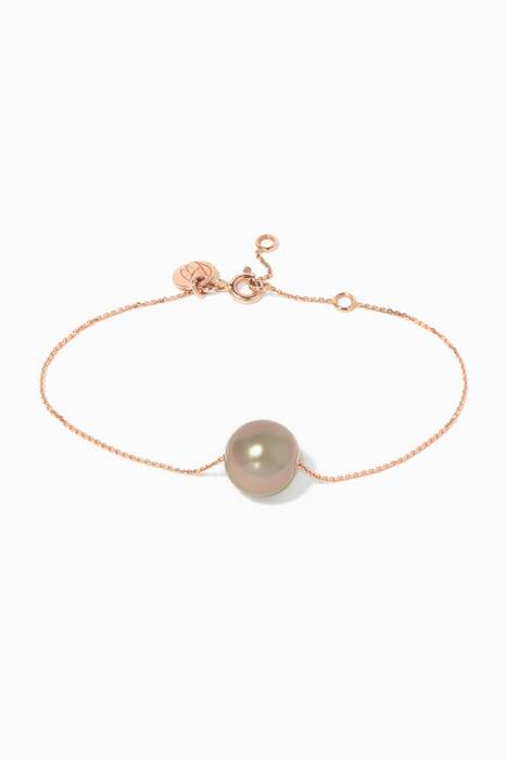 Pink Gold Links of Love Bracelet