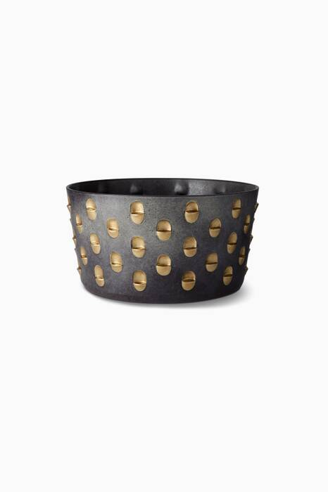 Black & Gold Medium Coba Bowl
