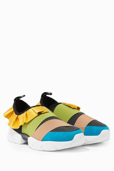 Multi-Coloured City One Frill Sneakers