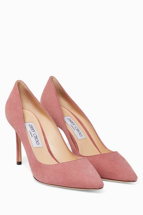 Vintage Rose Romy Suede Pumps