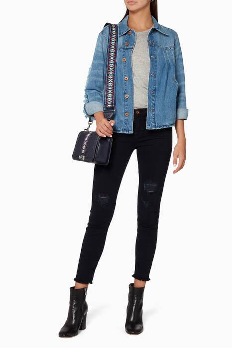 Americana-Blue Pixie Denim Jacket