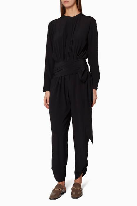 Black Michelle Jumpsuit