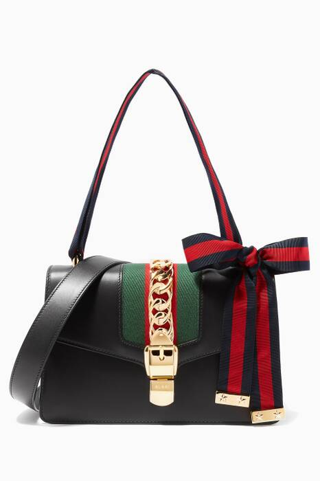 Black Sylvie Shoulder Bag