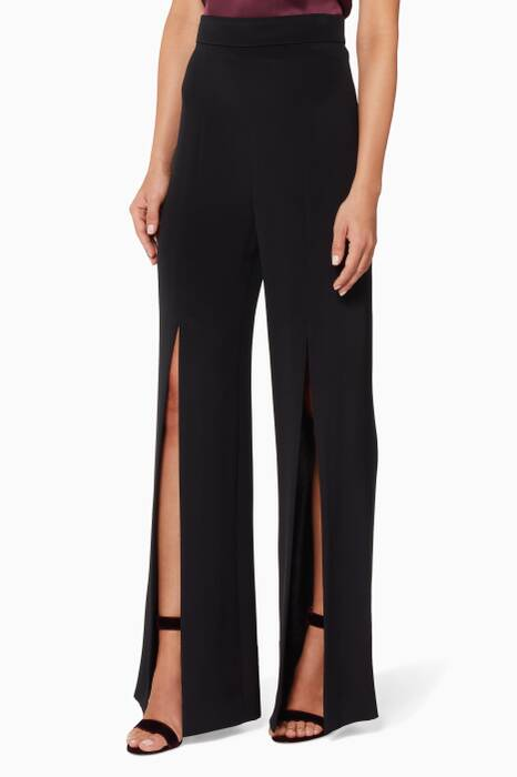 Black High-Waist Gemma Pants