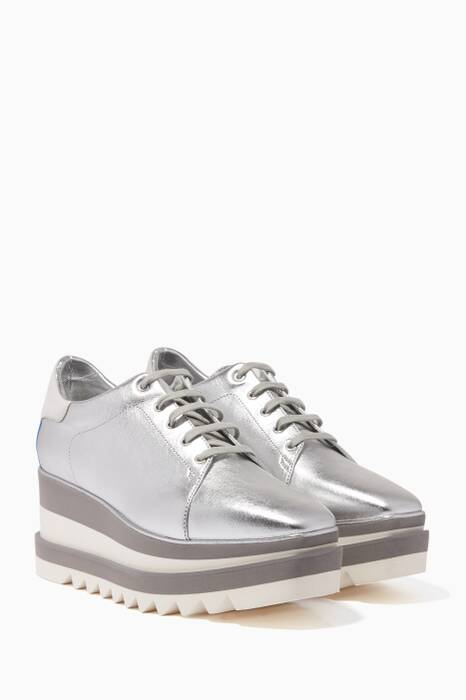 Silver Sneak-Elyse Sneakers