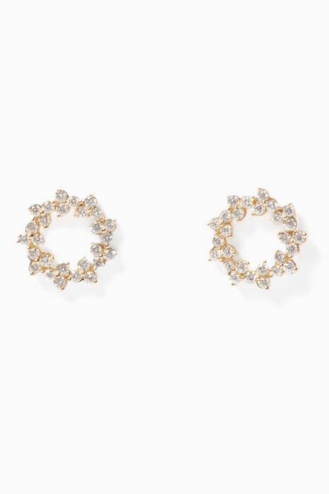 Yellow-Gold & Diamond Reverie Earrings