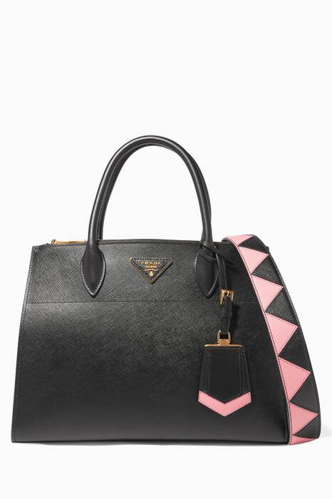 Black Large Paradigne Tote Bag