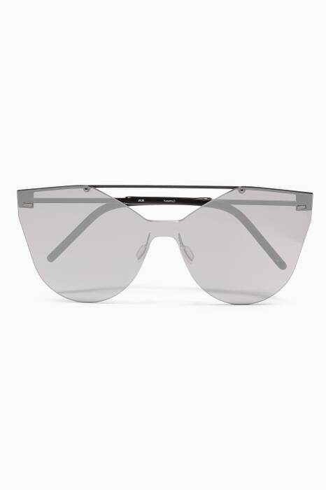 Black Kausama 3 Oversized Sunglasses