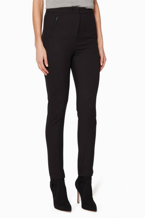 Black Stirrup Pants