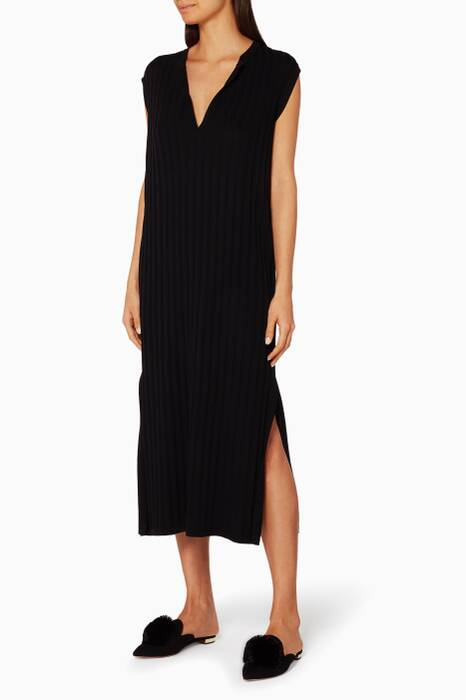 Black Bahia Knitted Dress