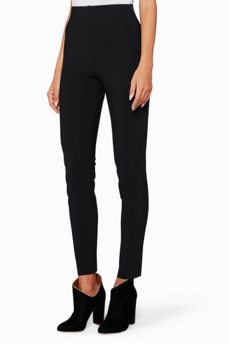 Black Slim-Fit Pants