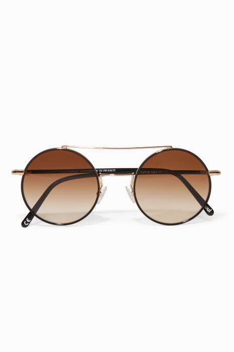 Gold Tati Sunglasses