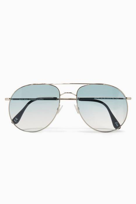 Blue Anatol Oversized Sunglasses