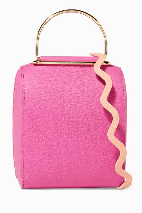 Hot-Pink Bessa Shoulder Bag