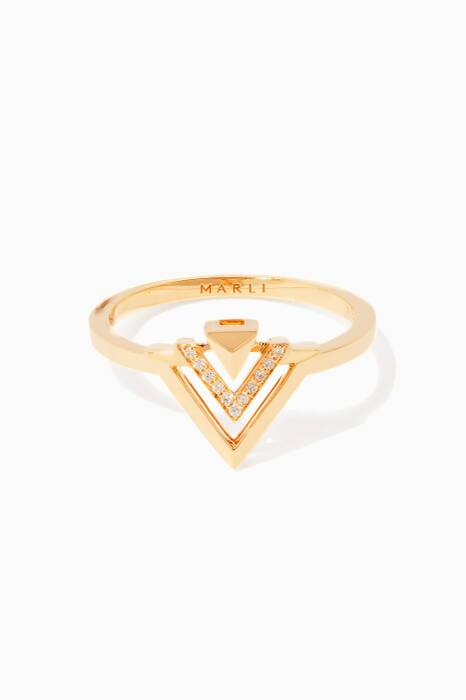 Yellow-Gold Avant Ring