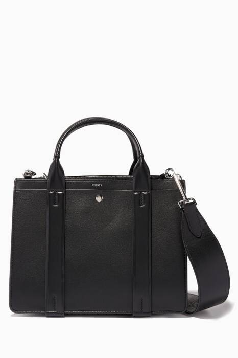 Black Mini West Satchel Cross-Body Bag