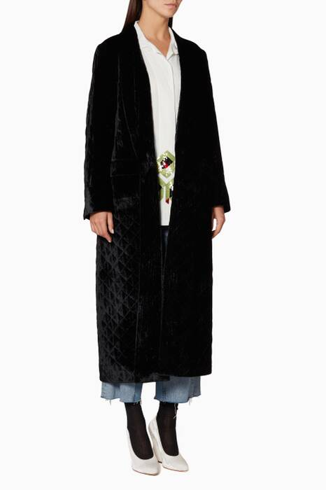 Black Rianca 4591 W.W. Coat