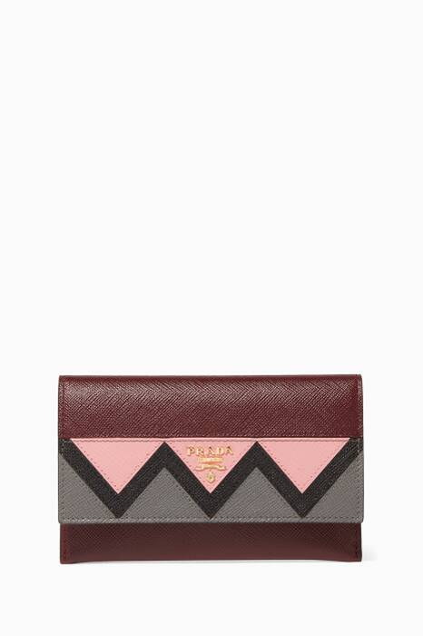 Dark-Red Greco Pouch