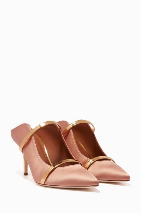 Blush Maureen Satin Mules