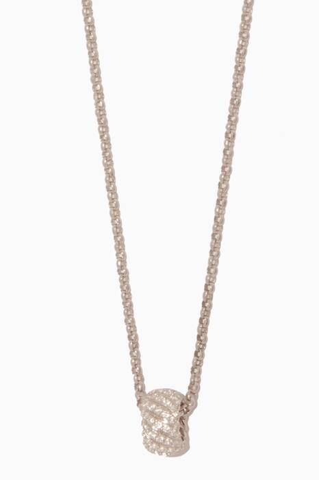 Silver Croisiere Necklace