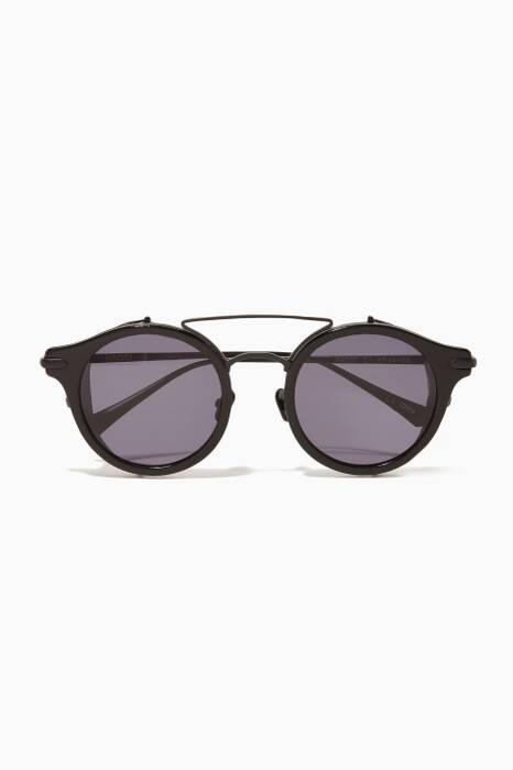Matte Black Mile High Sunglasses