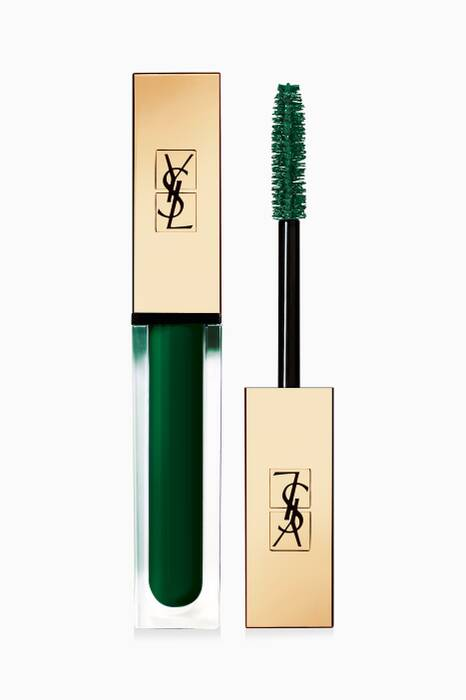 Green I'm The Excitement Vinyl Couture Mascara