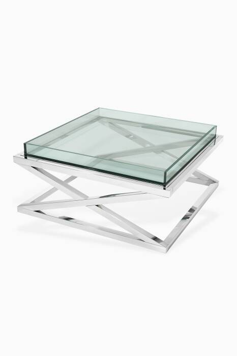 Silver Curtis Coffee Table