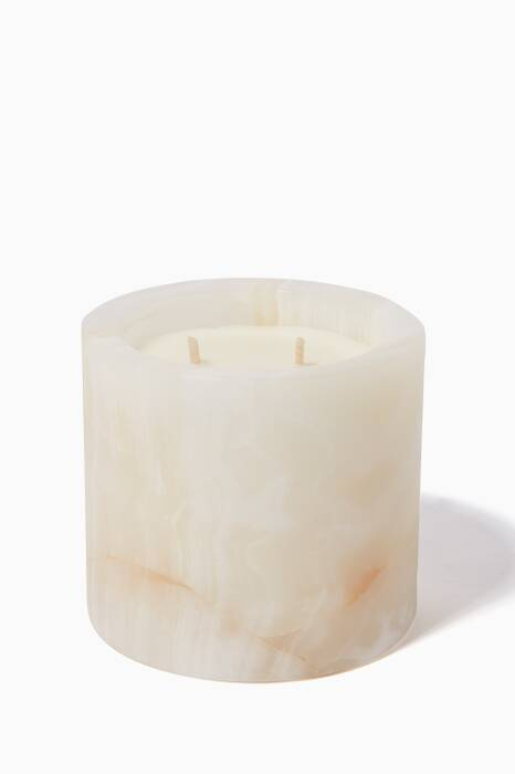 Small Sage Flower & Lemon Myrtle Onyx Candle, 400g