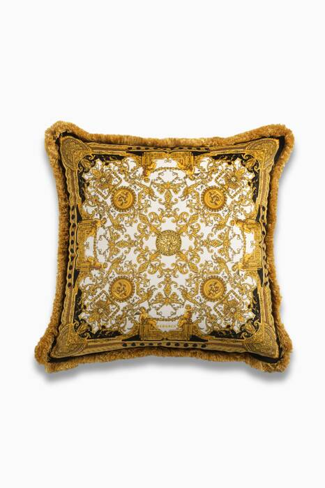 La Grande Dome Gold Tone Cushion