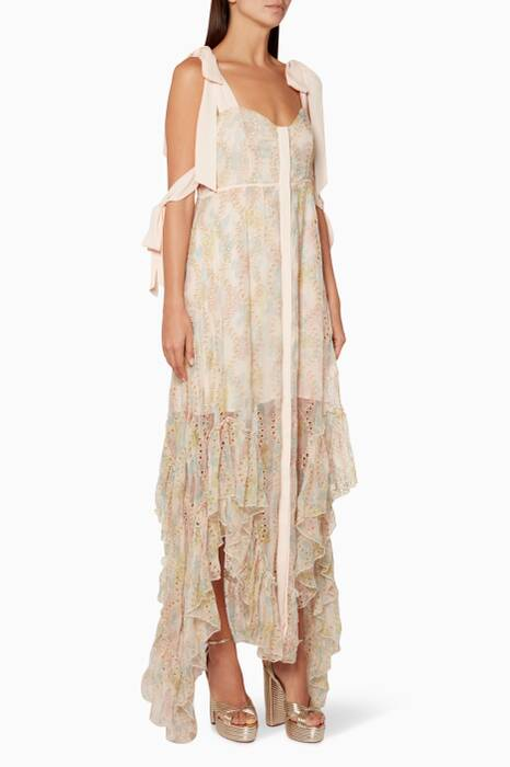 Light-Pink Isabella Maxi Dress