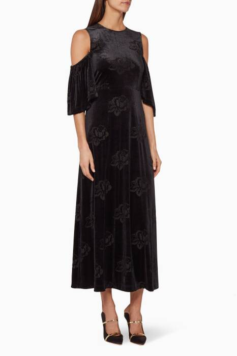 Black Bloomsbury Maxi Dress
