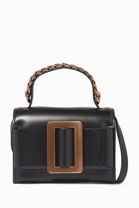 Black Small Fred Shoulder Bag