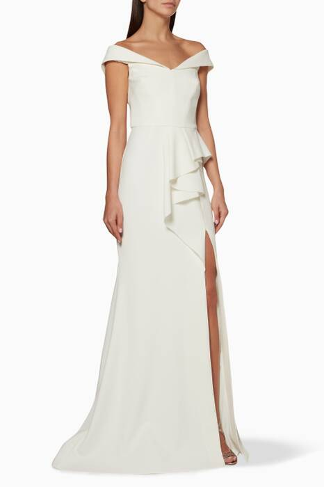 White St Barts Gown
