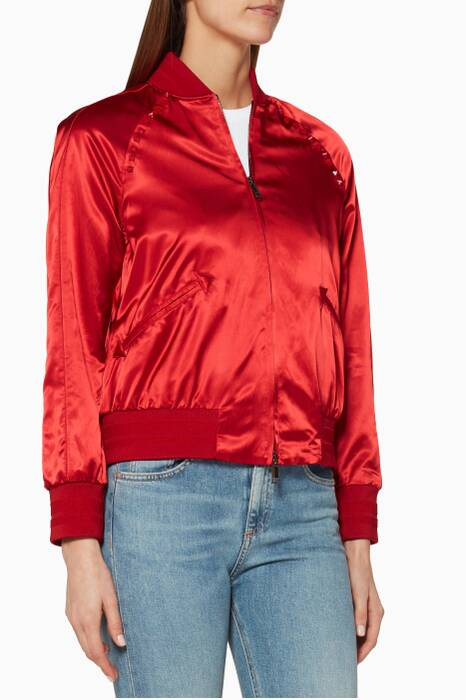 Red Souvier Baseball Jacket