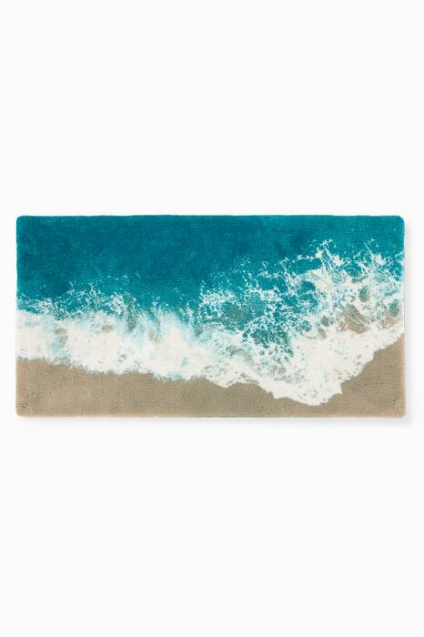 Blue Malibu Bath Mat